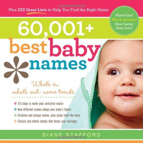 60,001+ Best Baby Names 9781402260278