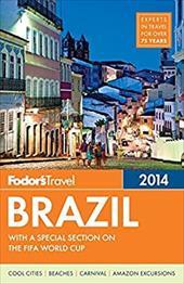 Fodor's Brazil 2014 21100312
