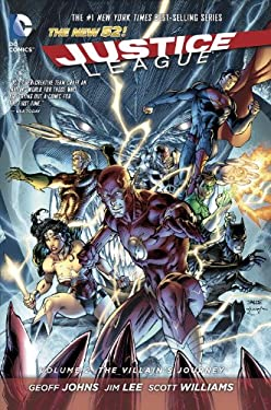 JUSTICE LEAGUE 2 THE VILLAINS JOURNEY 9781401237646
