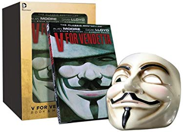V for Vendetta Deluxe Collector Set [With Mask] 9781401238582