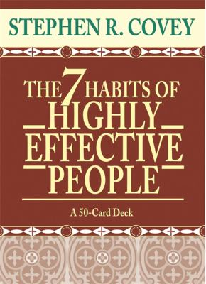 The 7 Habits of Highly Effective People Cards 9781401901165