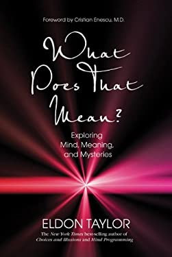 What Does That Mean?: Exploring Mind, Meaning, and Mysteries 9781401923341