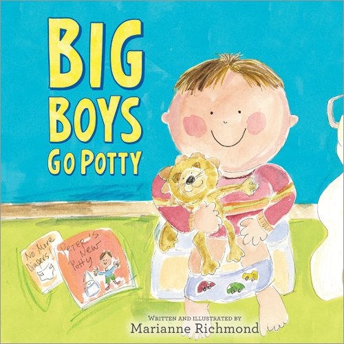 Big Boys Go Potty 9781402266591