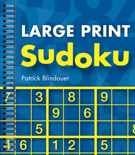 Large Print Sudoku 9781402773532