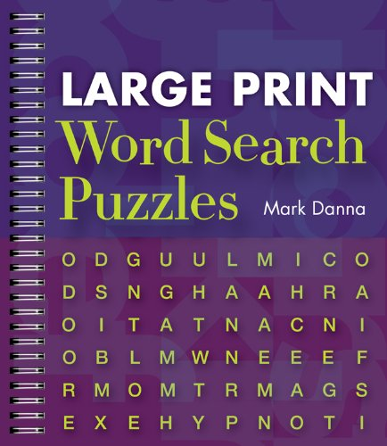 Large Print Word Search Puzzles 9781402777349