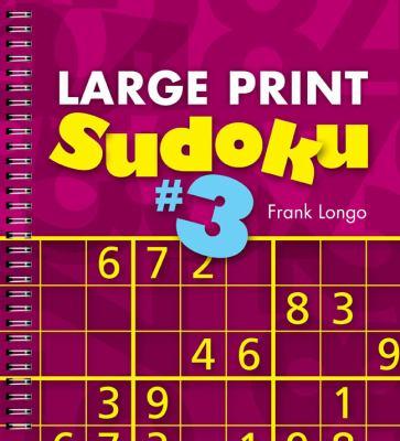 Large Print Sudoku #3 9781402797255