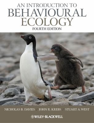 An Introduction to Behavioural Ecology 9781405114165