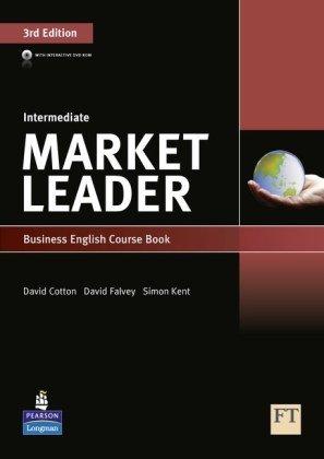 Market Leader 3rd Edition Intermediate Coursebook & DVD-Rom 9781408236956