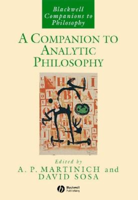 A Companion to Analytic Philosophy 9781405133463