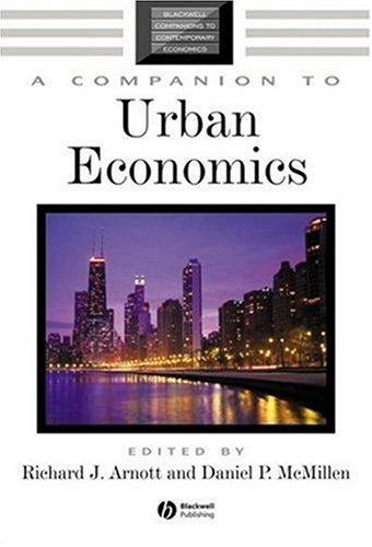 A Companion to Urban Economics 9781405179683
