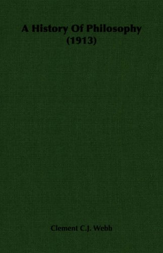 A History of Philosophy (1913)