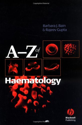 A - Z of Haematology 9781405103220