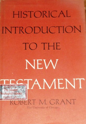 A historical introduction to the New Testament