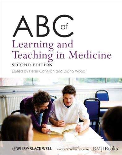 ABC of Learning and Teaching in Medicine 9781405185974