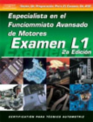 ASE Test Prep Series -- Spanish Version, 2e (L1): Advanced Engine Performance Specialist 9781401810221