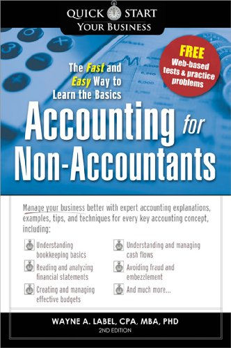 Accounting for Non-Accountants: The Fast and Easy Way to Learn the Basics 9781402222634