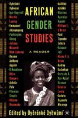 African Gender Studies: A Reader 9781403962836