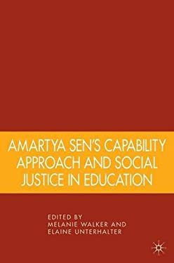 Amartya Sen's Capability Approach and Social Justice in Education 9781403975041