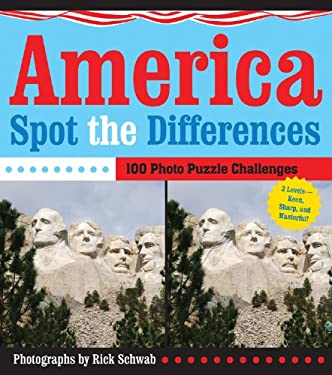 America Spot the Differences: 100 Photo Puzzle Challenges 9781402769016