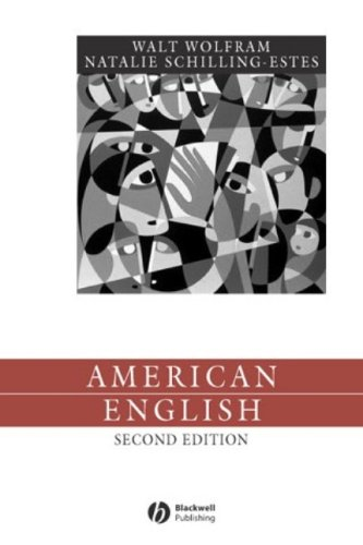 American English: Dialects and Variation 9781405112659