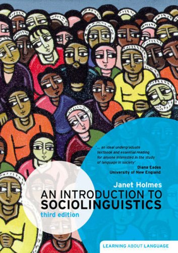 introduction to sociolinguistics the relationship between society and language Sociolinguistics is the study of the relationship between language and society  sociolinguistics is concerned with how language use interacts with, or is affected .