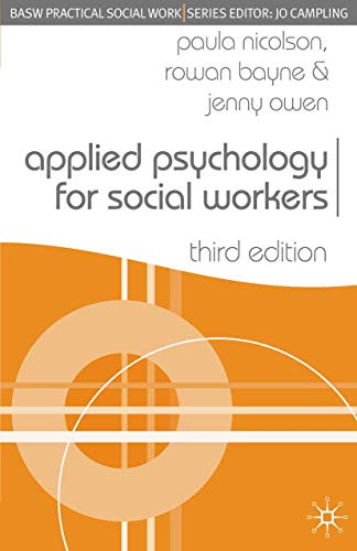 Applied Psychology for Social Workers: 9781403945662