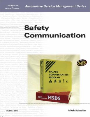 Automotive Service Management: Safety Communications 9781401826628