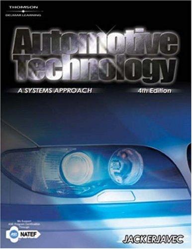 Automotive Technology: A Systems Approach 9781401848316