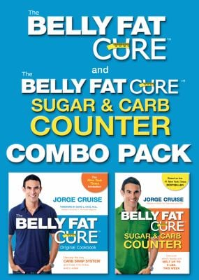 Belly Fat Cure Combo Pack: Belly Fat Cure/The Belly Fat Cure: Sugar & Carb Counter