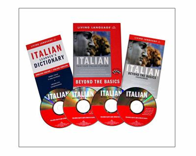 Beyond the Basics: Italian (Book and CD Set): Includes Coursebook, 4 Audio CDs, and Learner's Dictionary 9781400021765