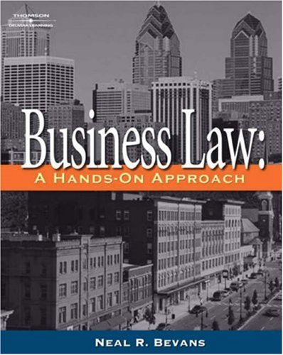 Business Law: A Hands-On Approach 9781401833534