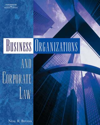Business Organizations and Corporate Law 9781401870836