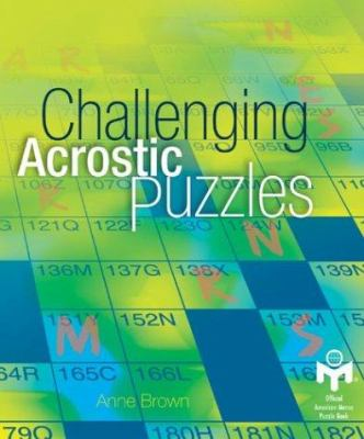 Challenging Acrostic Puzzles 9781402705823