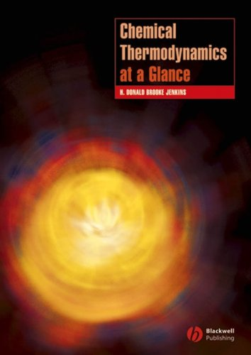 Chemical Thermodynamics at a Glance 9781405139977