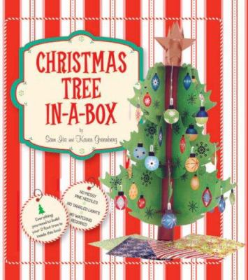 Christmas Tree In-A-Box [With 2' Tall Xmas Tree, 25 Boughs, 24 Ornaments, Etc... and 80 Page