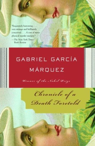 chronicle of a death foretold chapter Chronicle of a death foretold (spanish: crónica de una muerte anunciada) is a novella by gabriel garcía márquez, published in 1981 it tells.