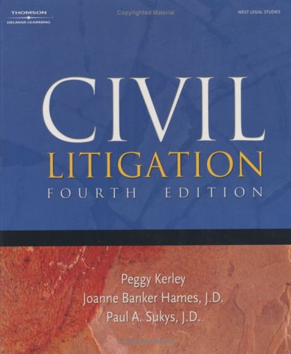 Civil Litigation 9781401848293