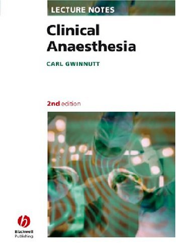 Clinical Anaesthesia 9781405115520