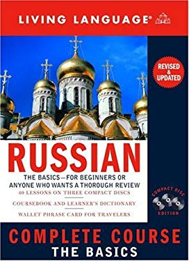 Complete Russian: The Basics (CD) [With Dictionary and CD] 9781400021567
