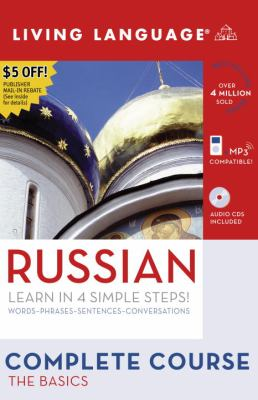 Complete Russian: The Basics [With Coursebook & Russian/English Dictionary] 9781400024223