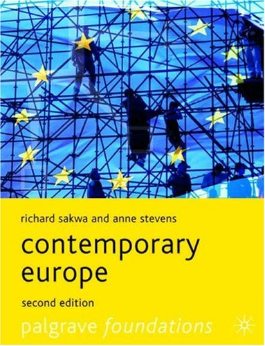 Contemporary Europe 9781403945679