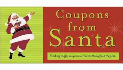 Coupons from Santa: Stocking Stuffer Coupons to Redeem Throughout the Year! 9781402220074