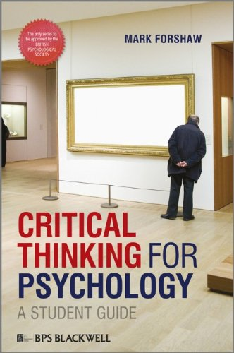 Critical Thinking for Psychology: A Student Guide 9781405191173
