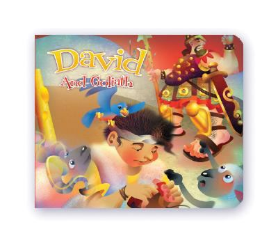 DP David and Goliath 6x5 Board Book 9781403742803