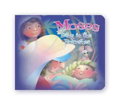 DP Moses: Baby in the Bulrushes 6x5 Board Book 9781403742797