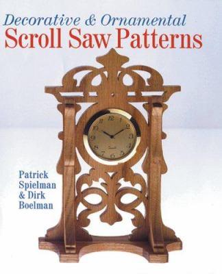Decorative & Ornamental Scroll Saw Patterns 9781402727061