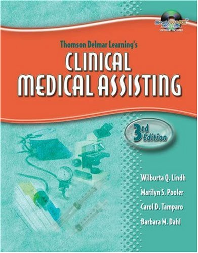 Delmar's Clinical Medical Assisting [With CDROM] 9781401881320