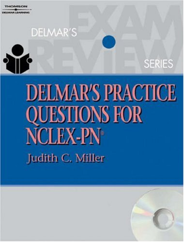 Delmar's Practice Questions for NCLEX-PN [With CDROM] 9781401804039