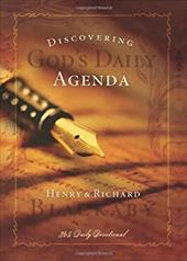 Discovering God's Daily Agenda: 365 Daily Devotional 6076879