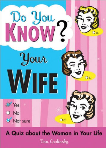 Do You Know Your Wife?: A Quiz about the Woman in Your Life 9781402202001
